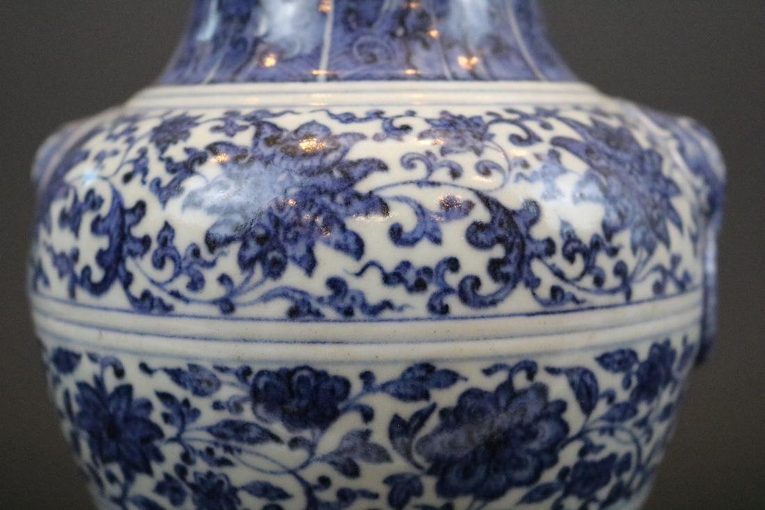Qianlong Mark,A Blue And White Jar - 2