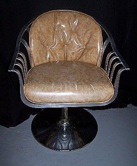 180: Woodard Chrome Armchair