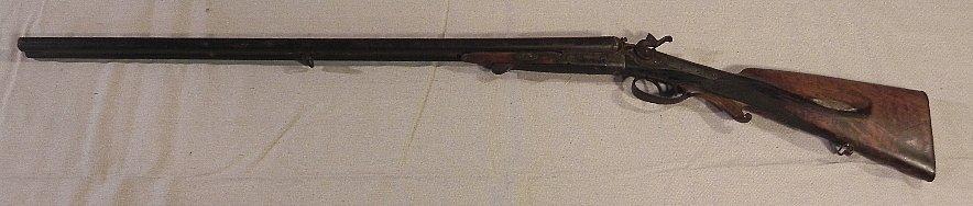 19th Century Black Powder Side by Side. Imman Meffert.