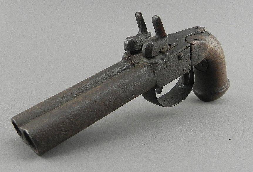 Antique Double Barrel Derringer