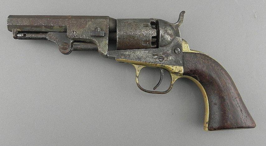Antique Sam Colt Revolver