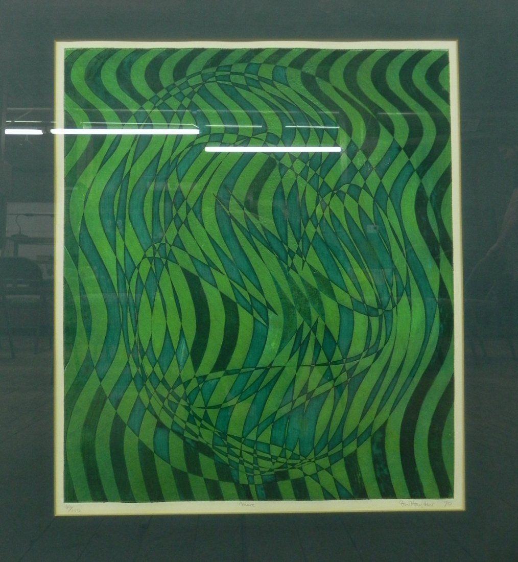 """Stanley William Hayter """"Mere"""" 1970 Etching"""