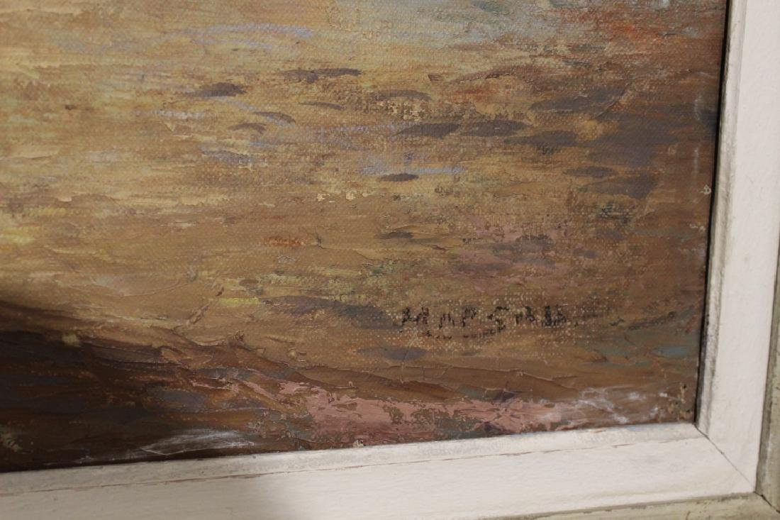 Oil on Board, Framed and Signed - 3