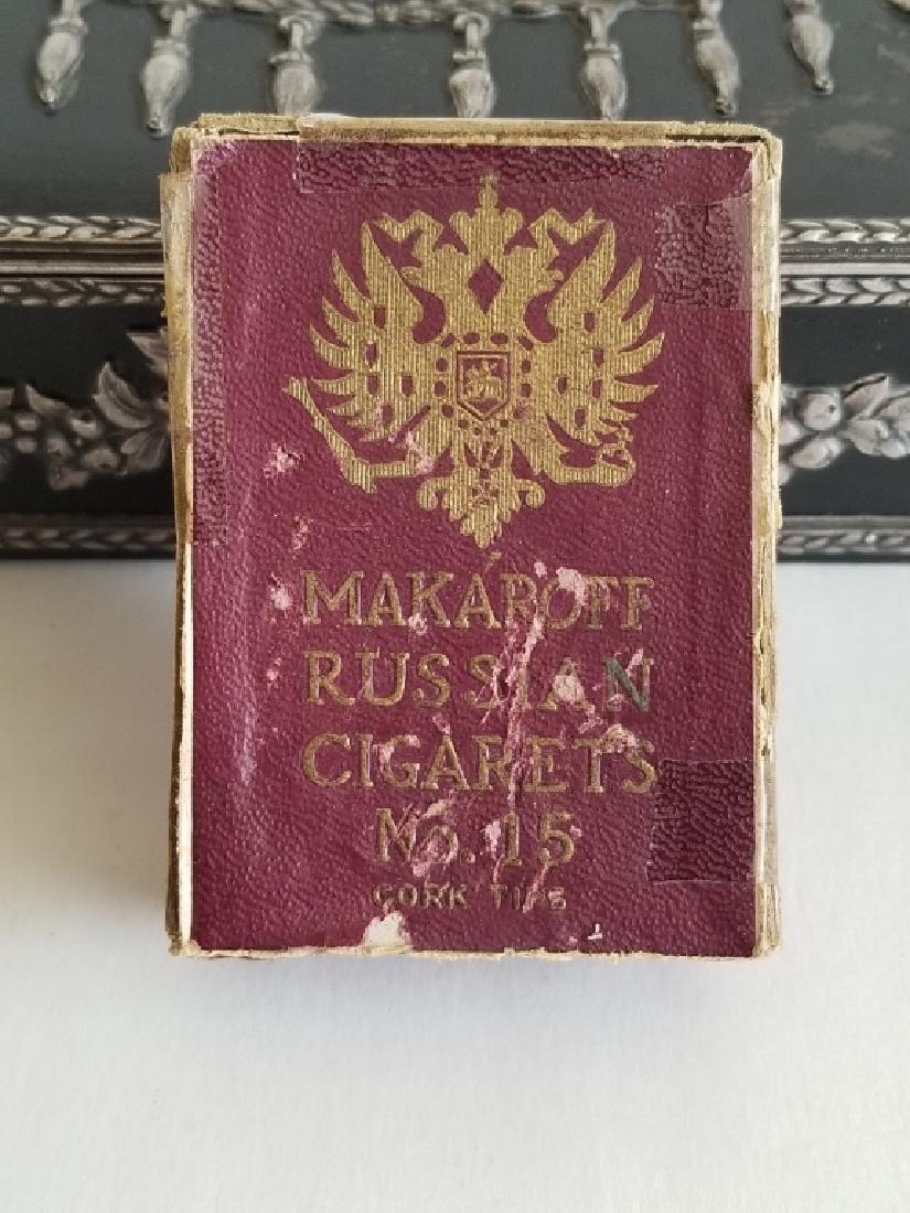 Antique Russian Steel Humidor Box - 7