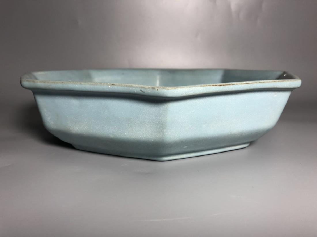 Chinese Ru Ware Porcelain Plate
