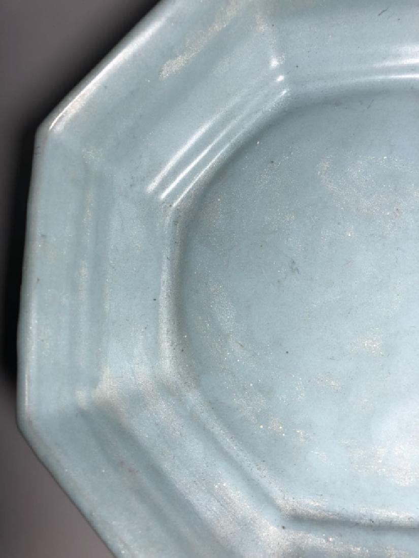 Chinese Ru Ware Porcelain Plate - 4