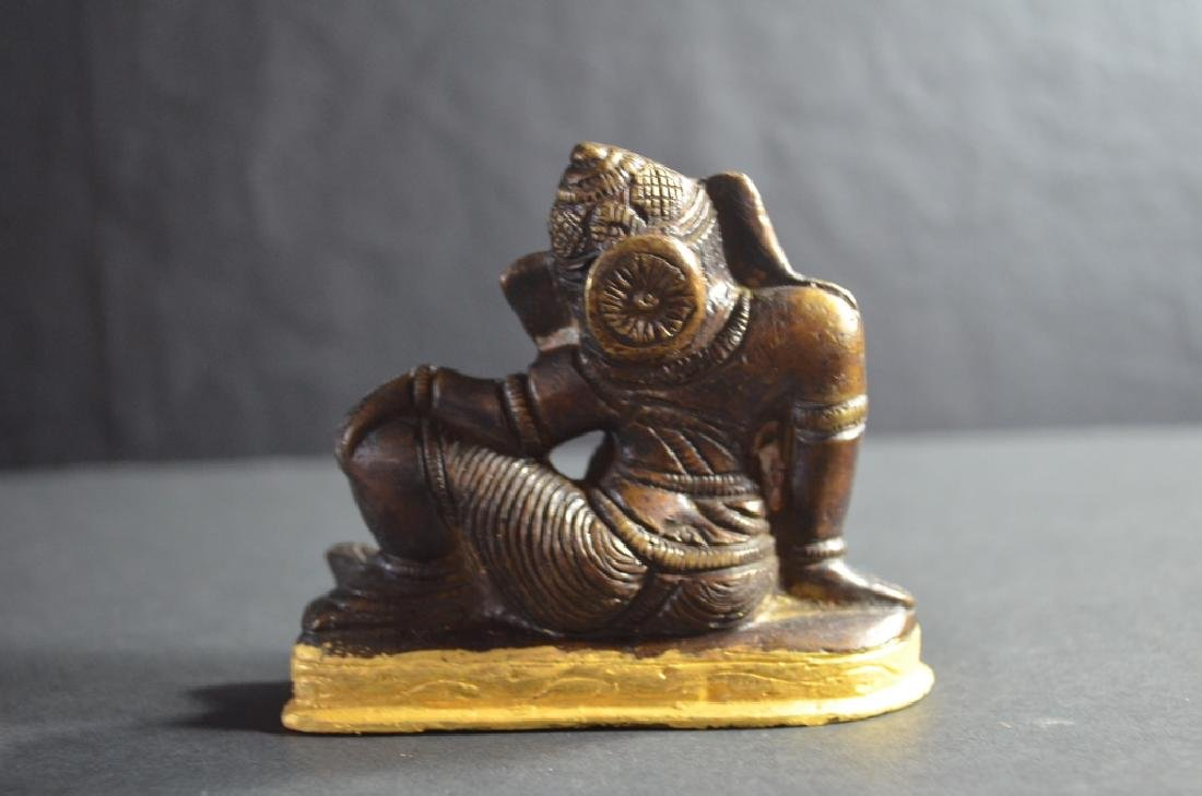 18th.C-19th.C Tibetan Bronze Buddha - 2