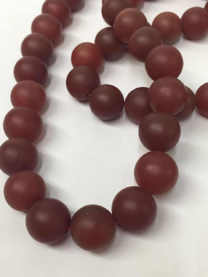 Chinese Red Beads Necklace - 4
