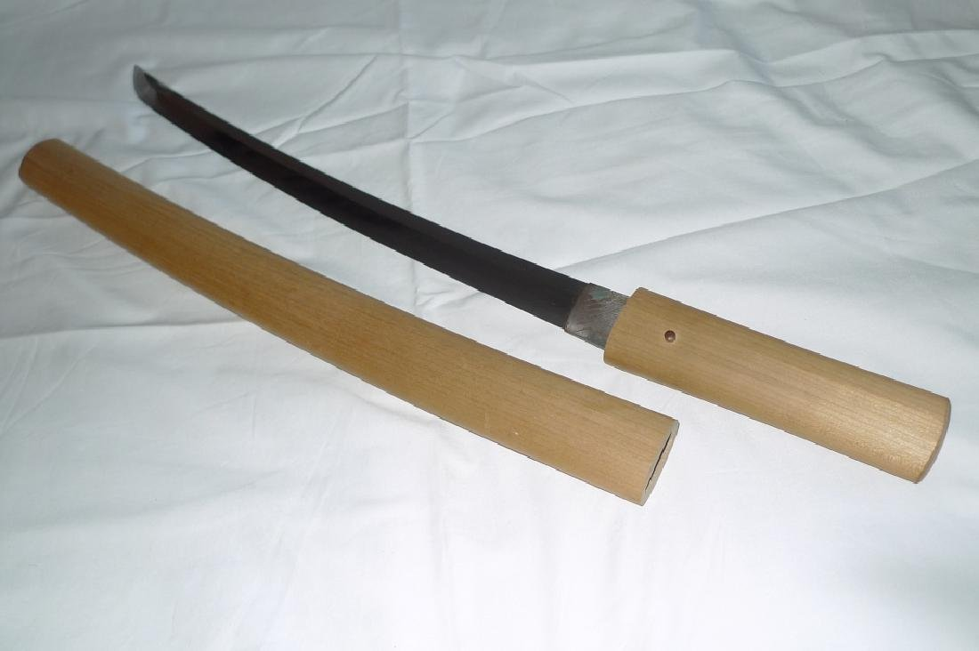 Antique Japanese sword wakizashi osuriage Koto