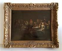 Old Master Oil Painting School of Francoise Xavier