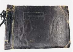 Antique Chinese Photo Album, 239 Pieces