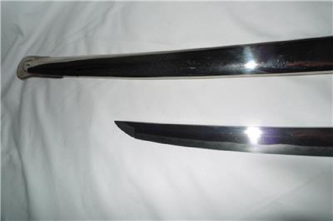 WWII WW2 Japanese Army Samurai Officer Gunto Sword - 6