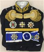 Chinese Court Military _x000D_ Dress w Badges&Orders