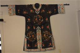 Vintage Chinese Embroidered Woman Robe Jacket.