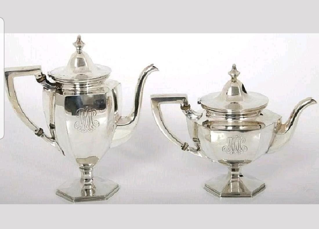 Lrg19C Sterling Silver Coffee/Tea Service - 2