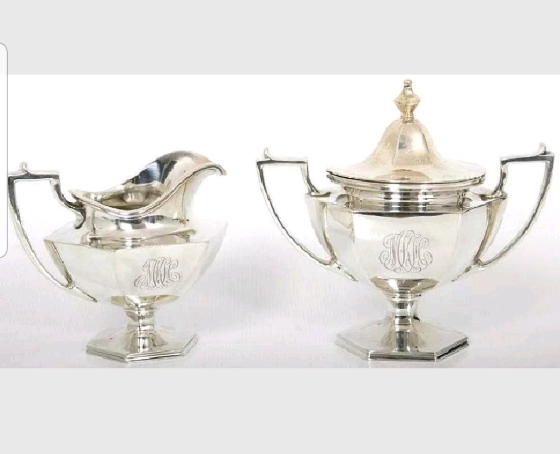 Lrg19C Sterling Silver Coffee/Tea Service - 3
