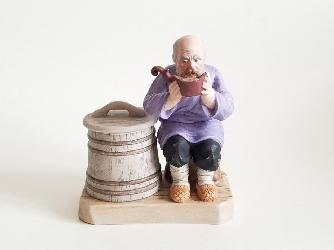 Antique Russian Gardner Porcelain Figurine