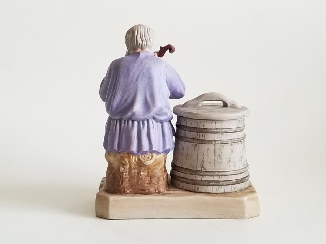 Antique Russian Gardner Porcelain Figurine - 3