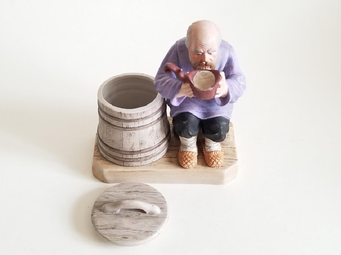 Antique Russian Gardner Porcelain Figurine - 4