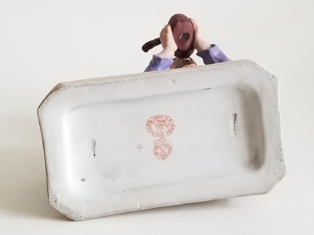 Antique Russian Gardner Porcelain Figurine - 5