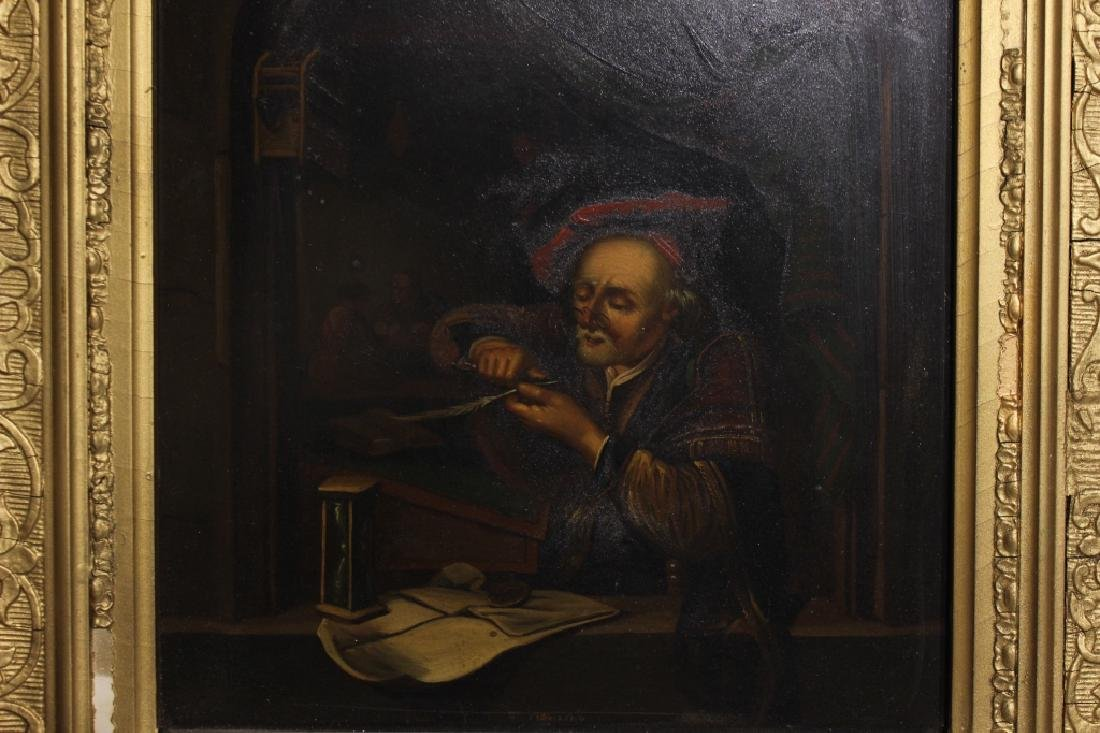 2 Oil on Canvas, Early 19th.C - 3