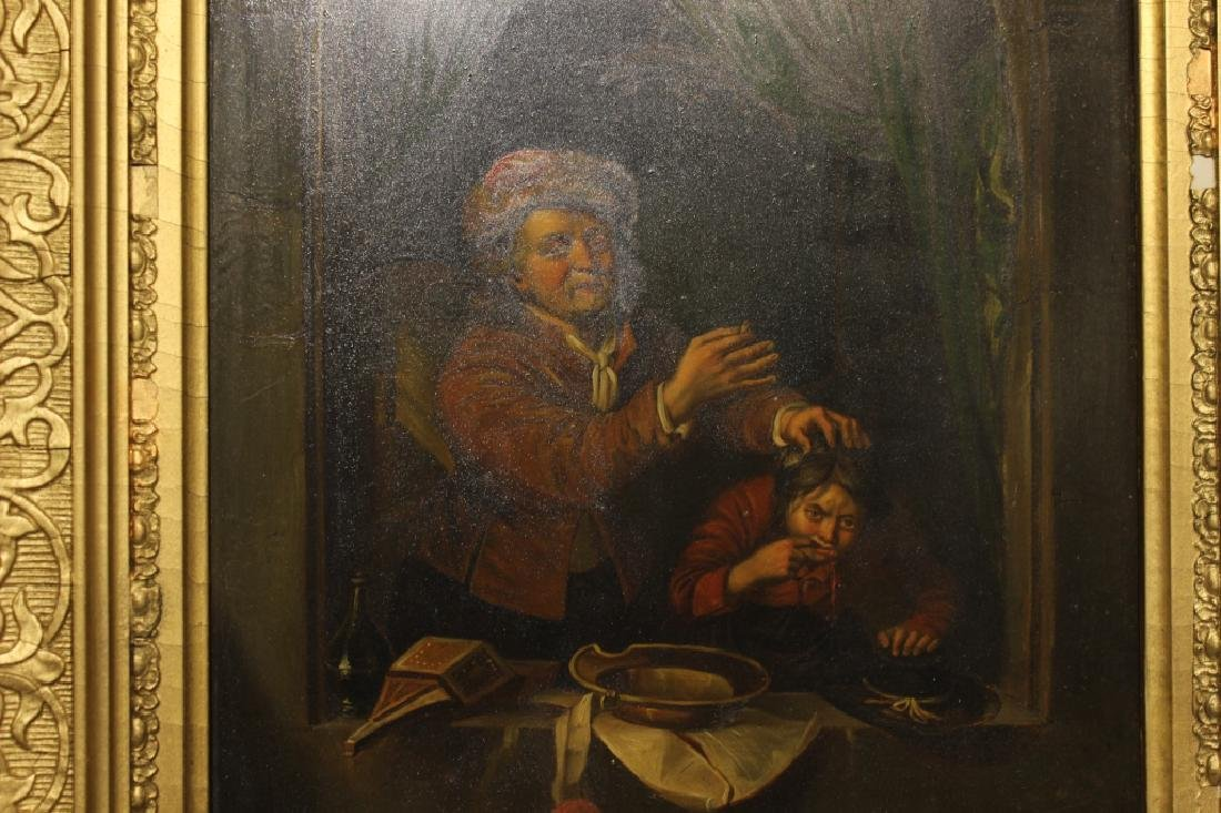 2 Oil on Canvas, Early 19th.C - 5