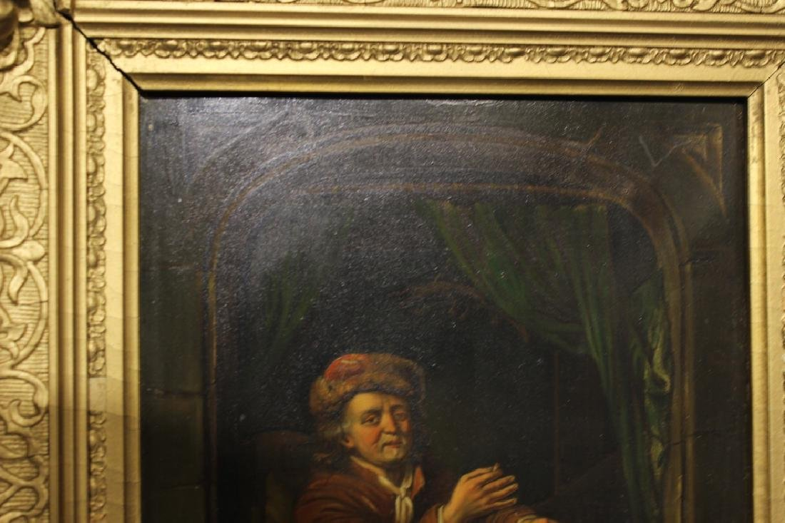 2 Oil on Canvas, Early 19th.C - 7