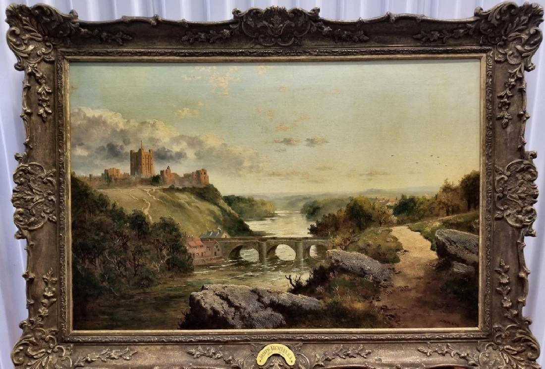 19C English Landscape Painting Joseph Niemann