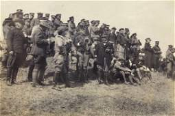 Qing Dynasty Photo Album of Chinese Army Exercise