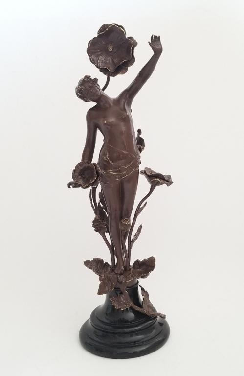 19C Bronze Statue F.Ross ( German 1858-1900)