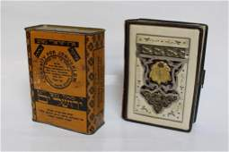 One Jewish Prayer Book and One Coin Box