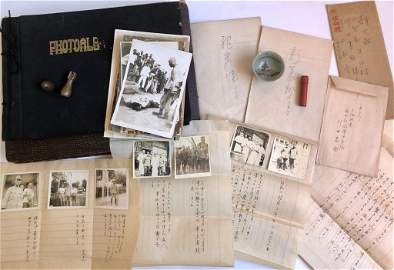 Group Collections of Photography,Letters and Maps