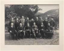 A Large Photo of Sir Robert HoTung Family in Hongkong