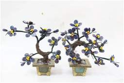 Pair of Chinese Table Planter