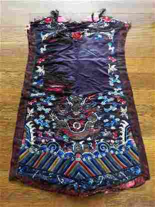 Gorgeous Antique Chinese Silk Robe