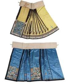 Chinese Silk Embroidery Skirt