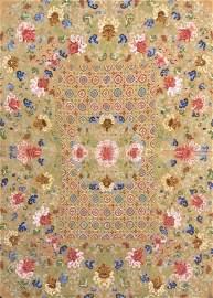 Large Chinese Silk Kesi Tapestry