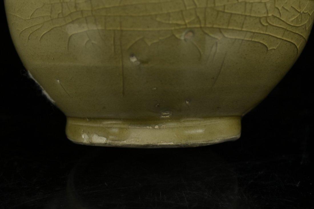 Chinese Song Celadon Yue Kiln Vase - 7