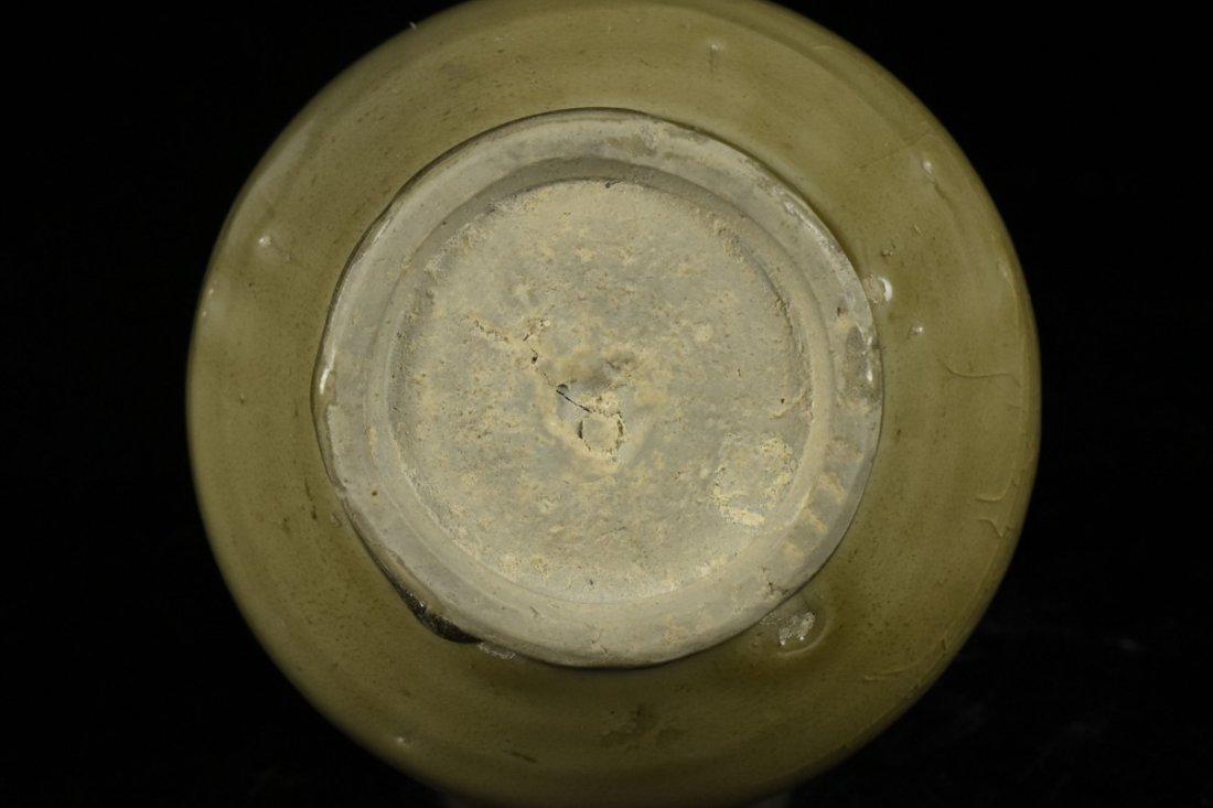 Chinese Song Celadon Yue Kiln Vase - 8