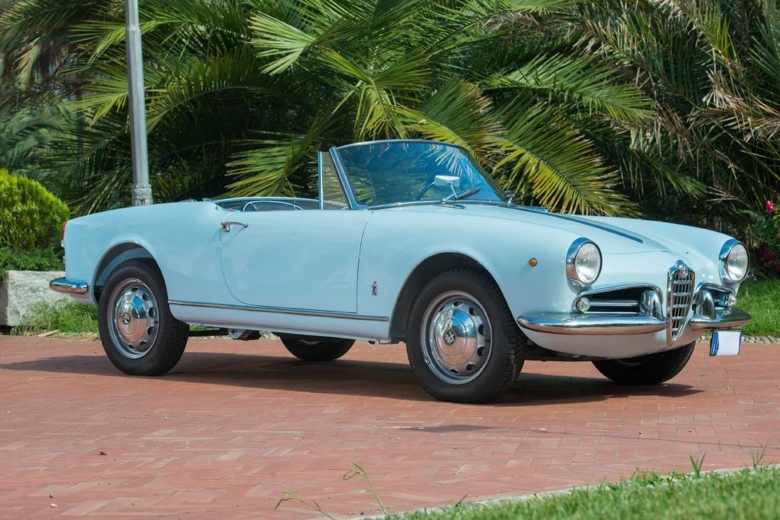 1962 - ALFA ROMEO GIULIETTA SPIDER 1300