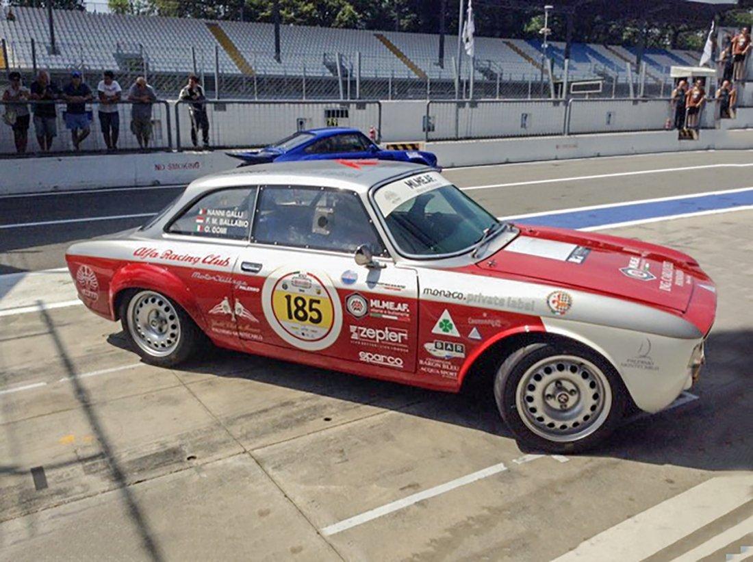 1968 - Alfa GT V 1600 Scalino Competizione