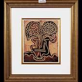 Pablo Picasso-Le Vase de Fleurs