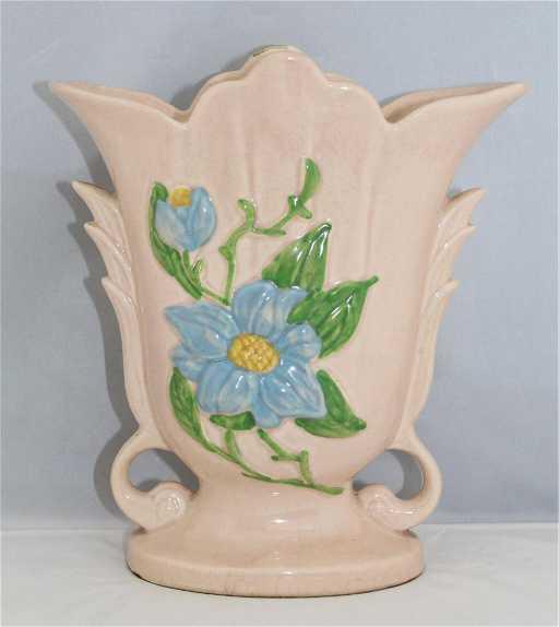 Vintage Hull Art Pottery Pink H 8 812 Vase Usa