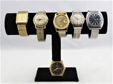 Vintage Men's Wristwatch Lots (6)