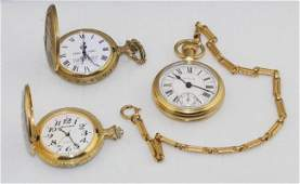 Pocket Watch Lot (3)