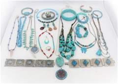 Southwestern Style Jewelry Lot