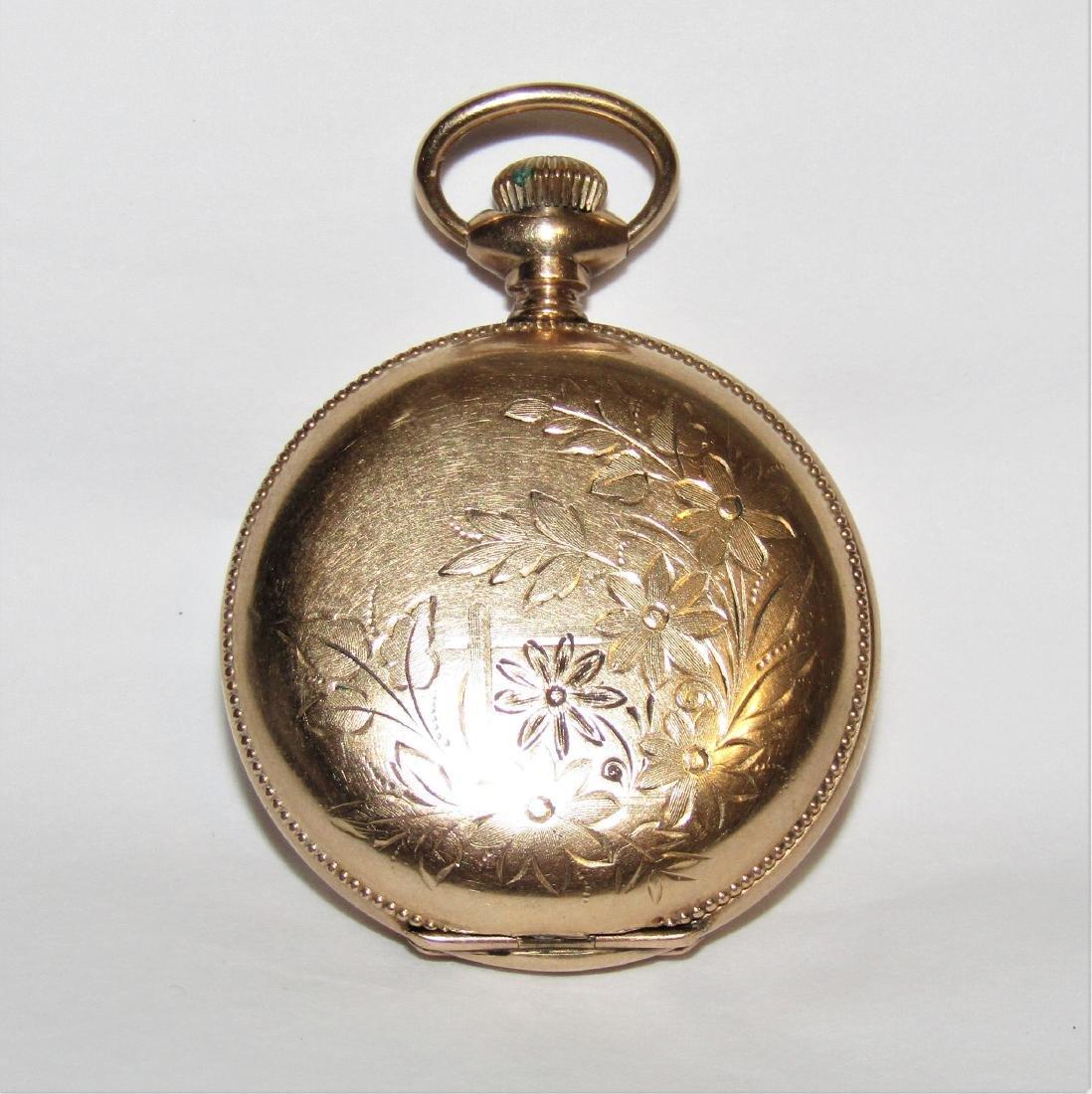 Antique 14K Gold Elgin Pocket Watch