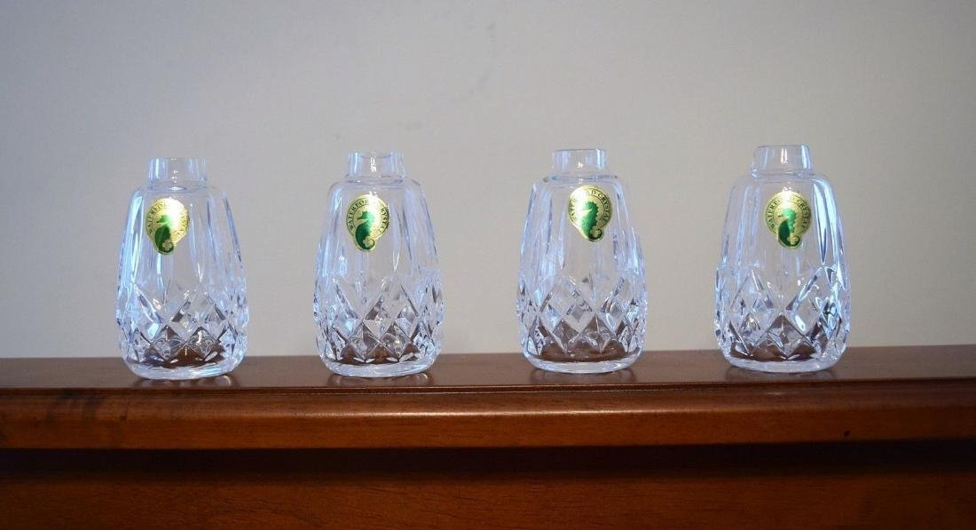 WATERFORD Lismore Cut Crystal Salt And Pepper Shakers - 3