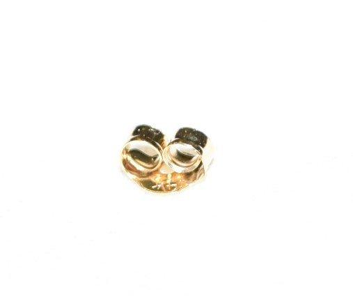 14 K Gold Pink Tourmaline Pierced Earrings 1.7 TCW - 5