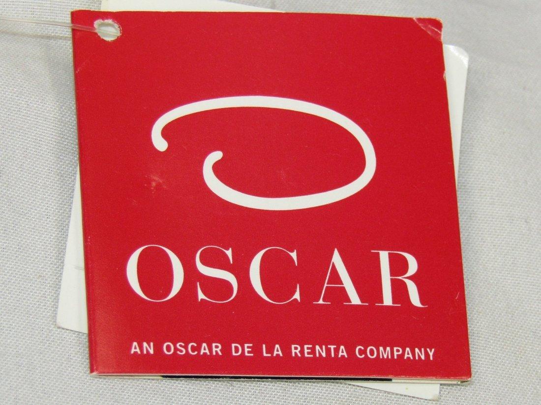 New OSCAR DE LA RENTA Brown Genuine Leather Belt Size S - 8